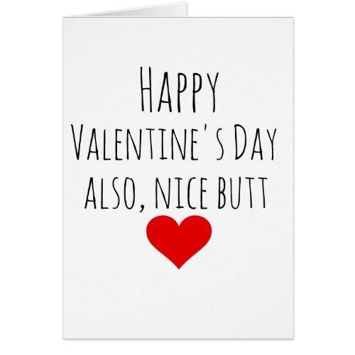 Valentines Day Card Boyfriend Funny For Him Valentine Day Ideas