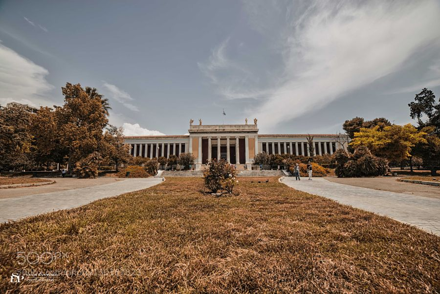 National Archaeological Museum Athens by LucaSantoroPhotography