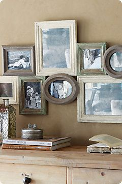 Collage Frames Distressed Wood Google Search In 2019