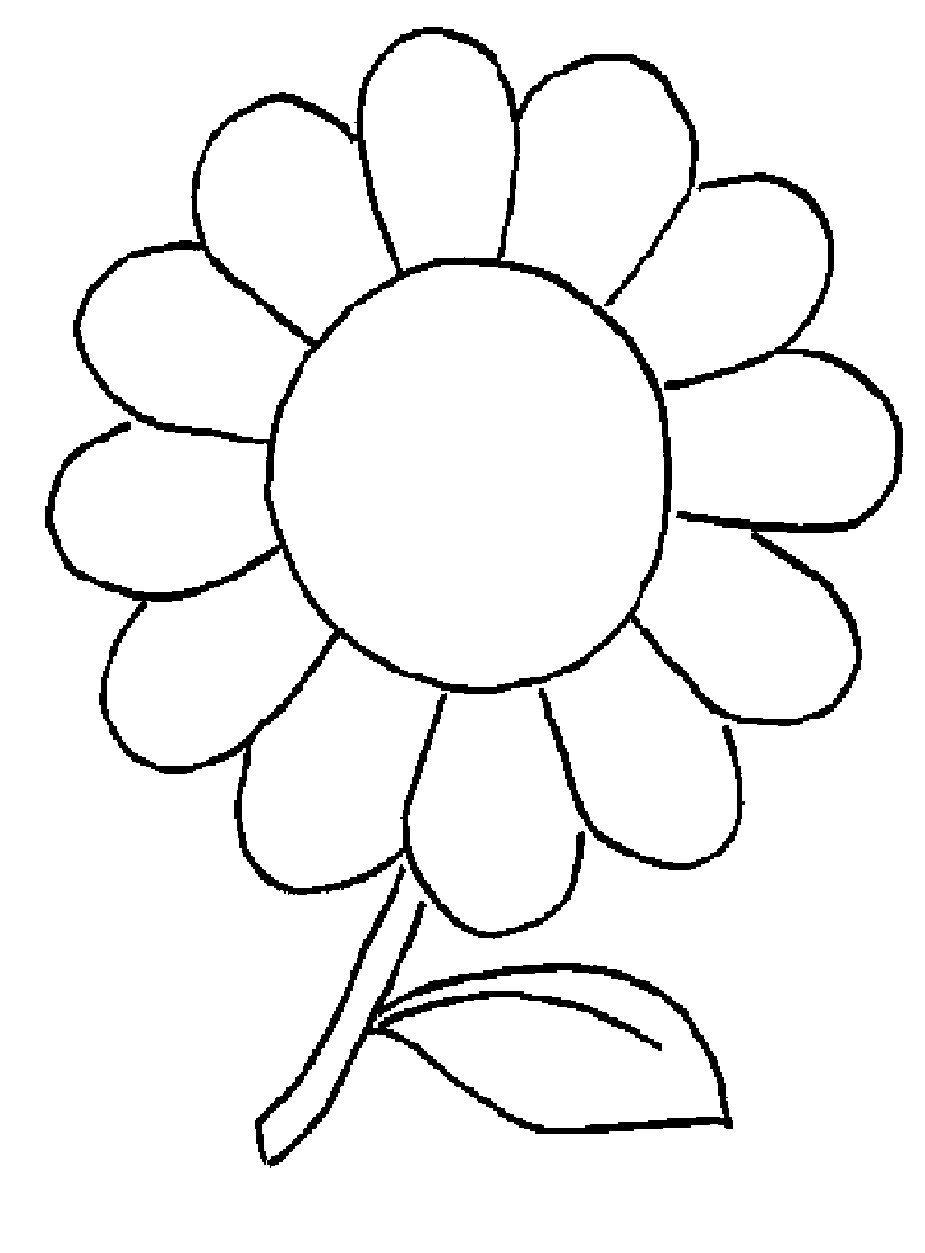 Excepcional Flor De Margarita Para Colorear Regalo - Ideas Para ...