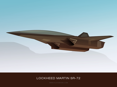 Future aircraft #3 - infographic element