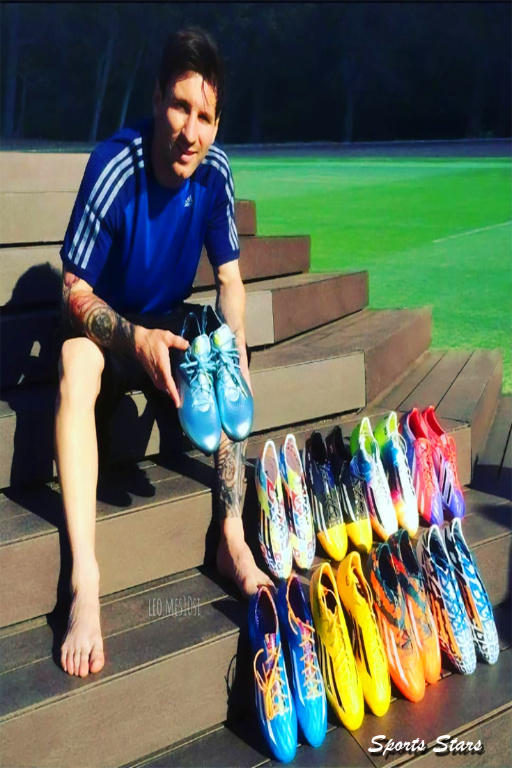 Messi's shoe collection #shoegame