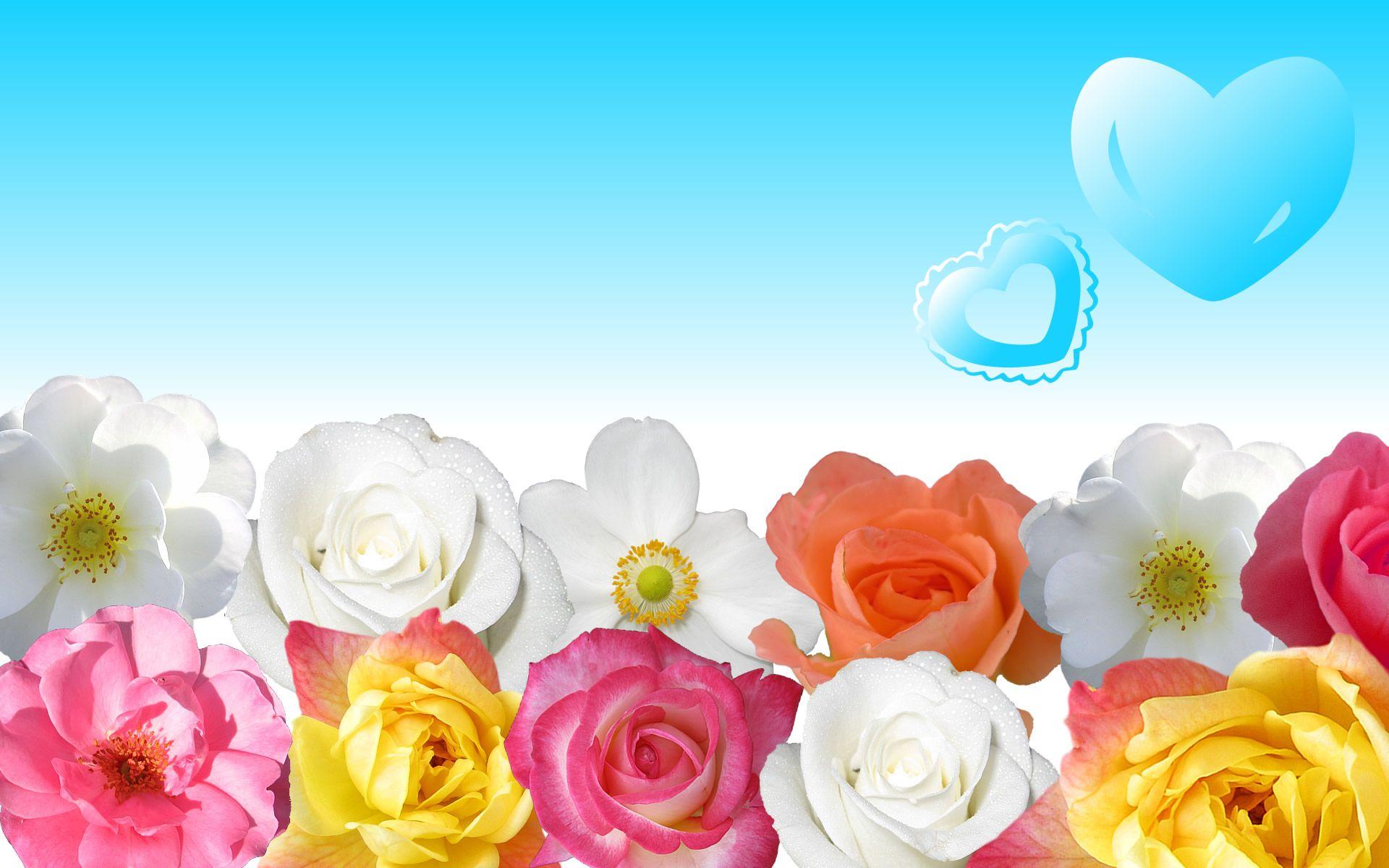 beautiful-flower-vintage-flower-wallpaper (1920×1200) | flowers