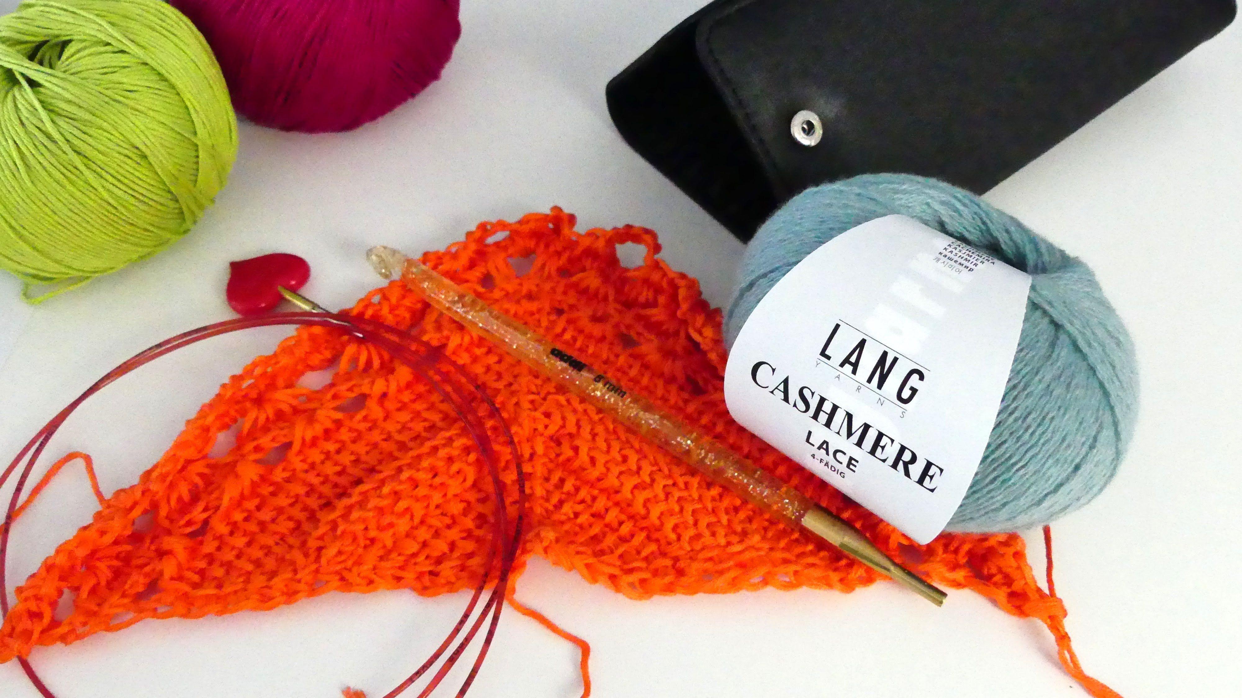 tunesisches Abenteuer - Crochet-ALong - Teil 1 | entrelac tunesisch ...