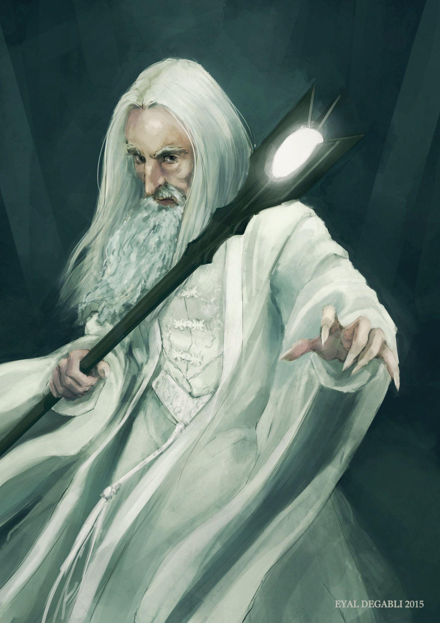 byArtStation - Saruman, by Eyal Degabli
