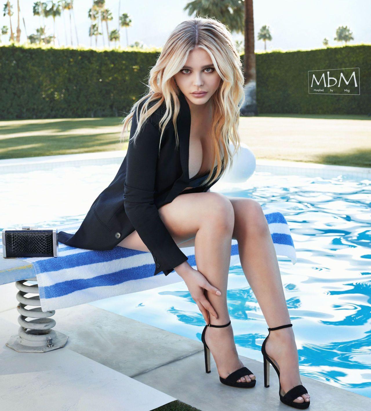 Chloe Grace Moretz, Fitness Models