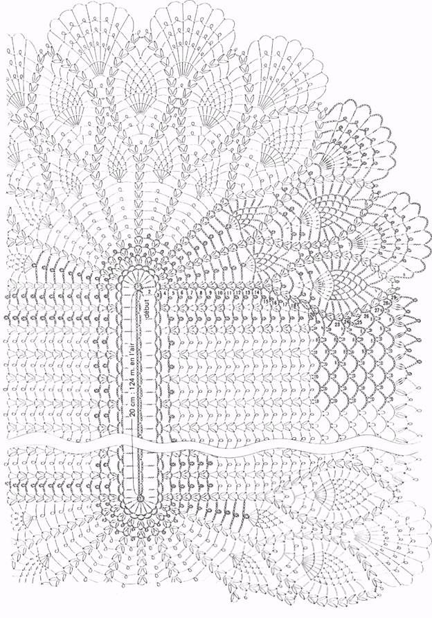 Oval Table Center WONDER Crochet Patterns | Crochet - doilies ...