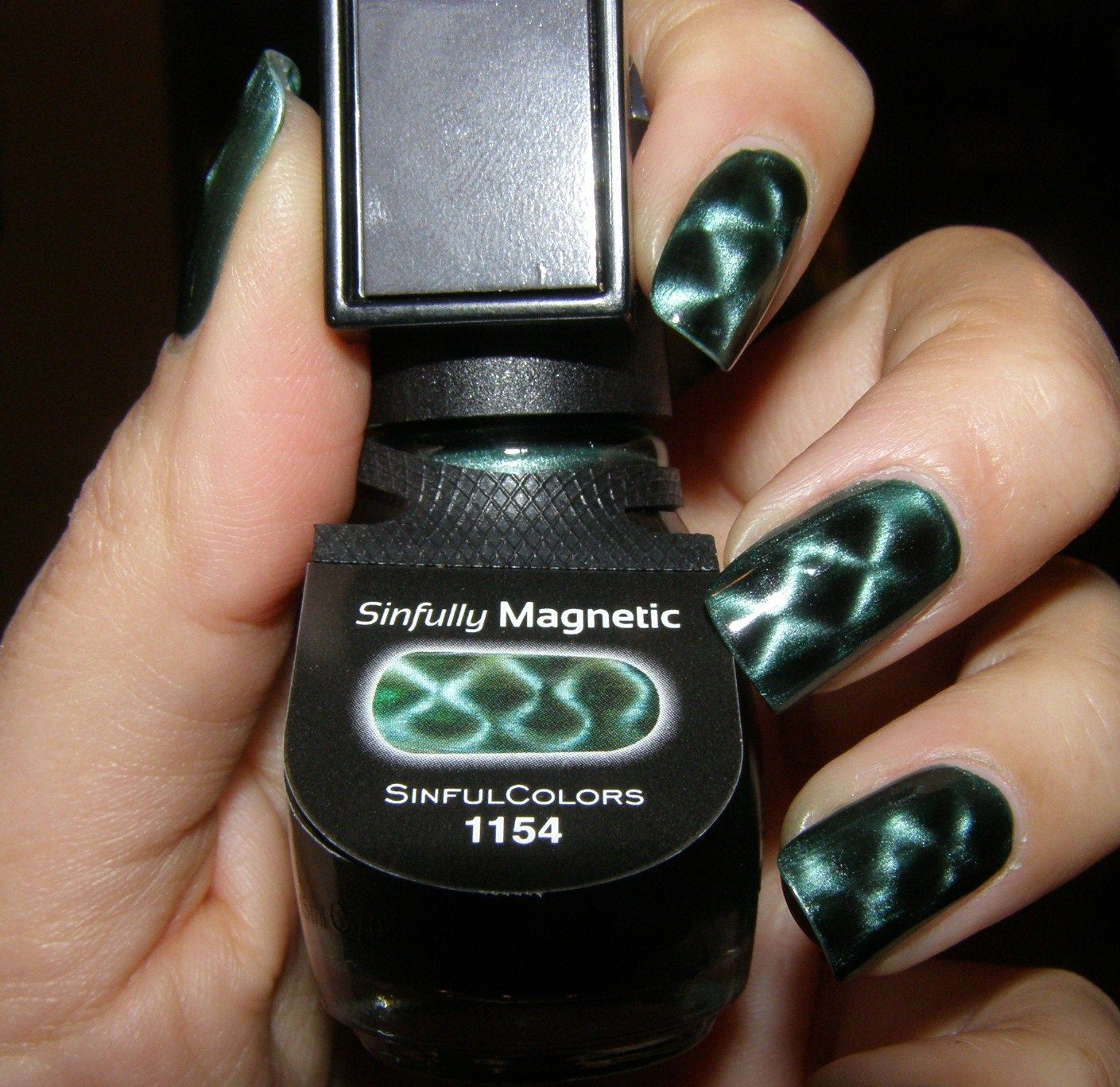 Sinfully Magnetic Force Field | Beauty Chronicles: Nails | Pinterest ...