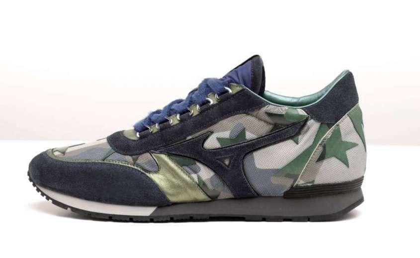 Pitti Uomo 2017  le tendenze scarpe per l Autunno Inverno 2017-2018 -  Sneakers Mizuno 1906 camouflage 692733f914b