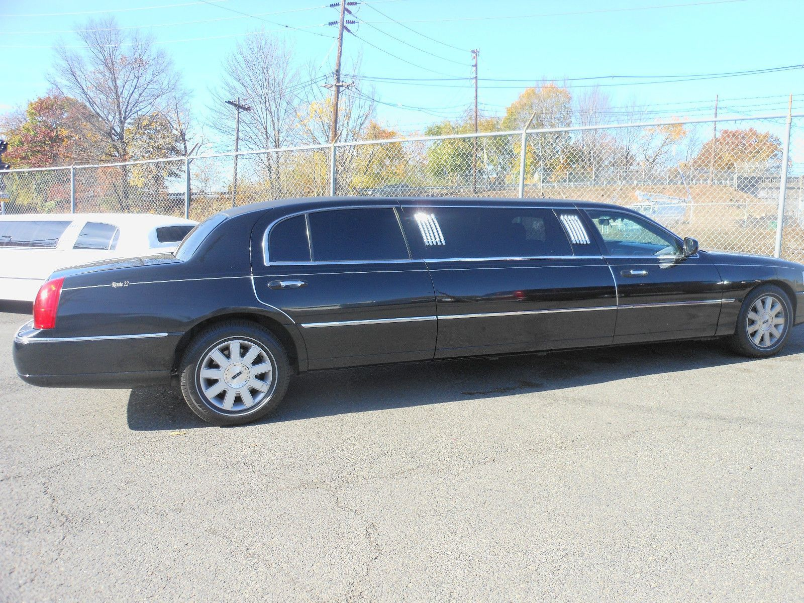 2003 lincoln town car limousine 6 passenger limousine super clean with rear long door with miles car 39 has been in service as part of our expansive fleet