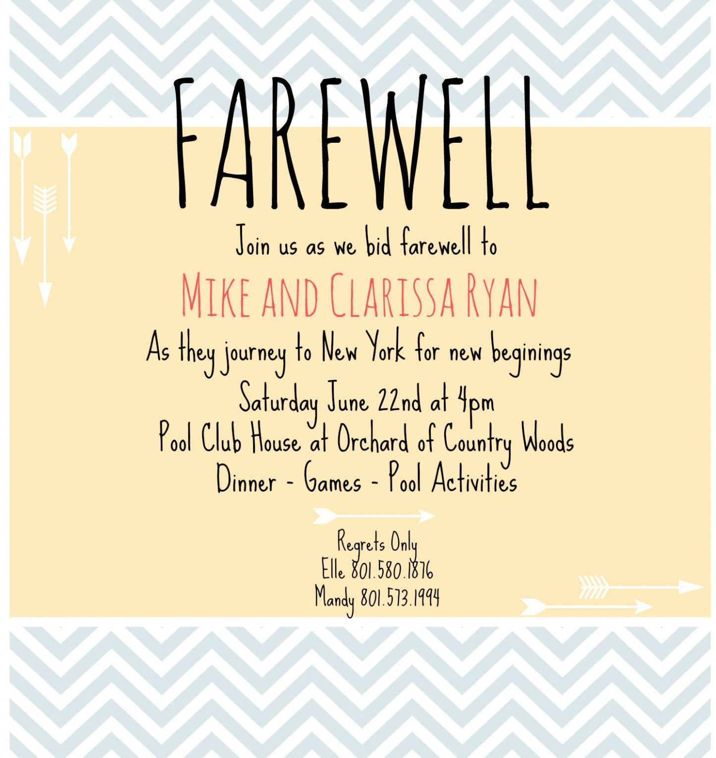 How To Make Farewell Invitation Card  Farewell party invitations