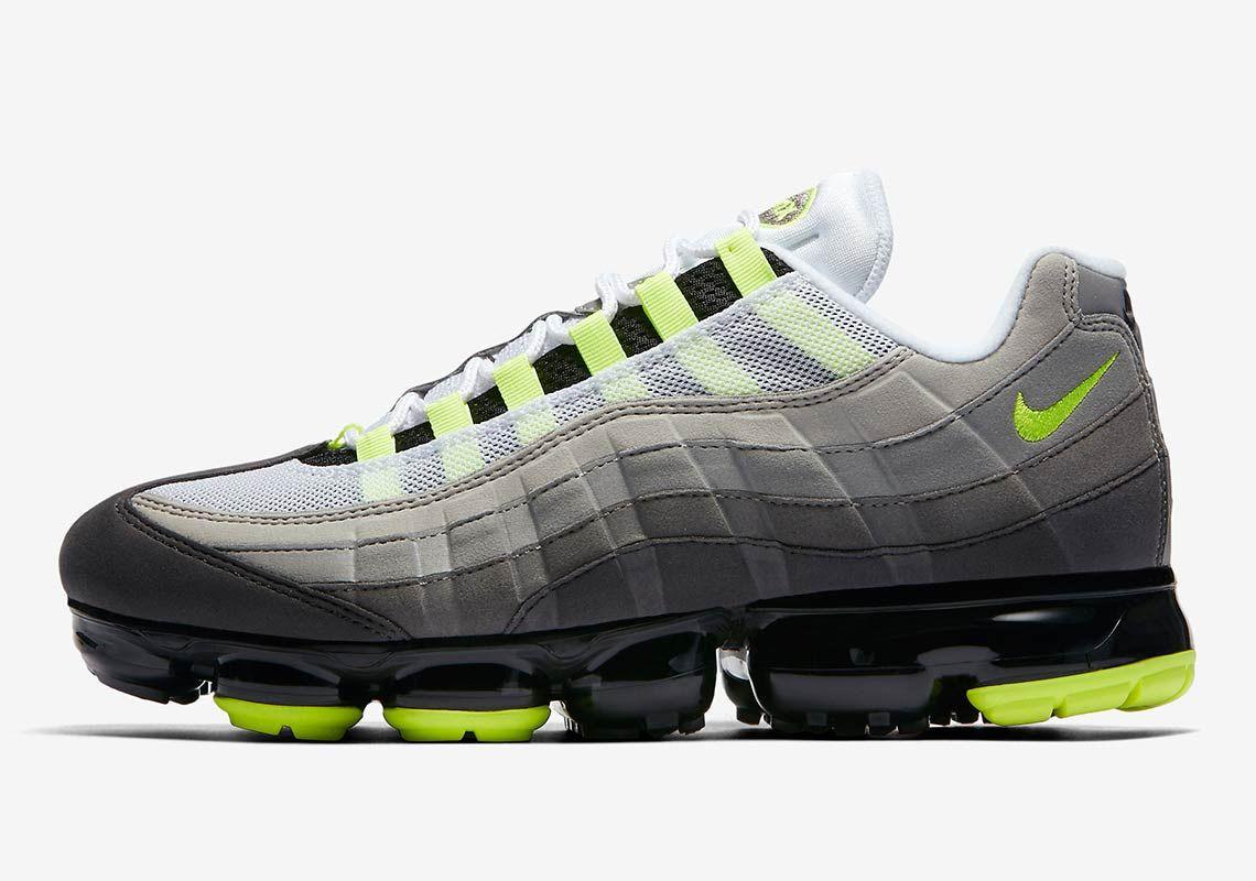 on sale 5c051 47696 Nike Vapormax 95 Debuts In The OG Neon Colorway   Footwear in 2019 ...