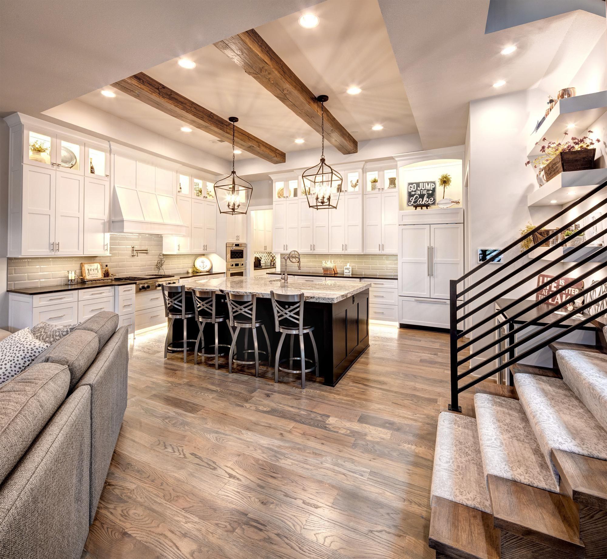 Kitchen Dining Photo Gallery Custom Homes In Kansas City Ks Starr Homes Home Living Room Remodel Home Decor