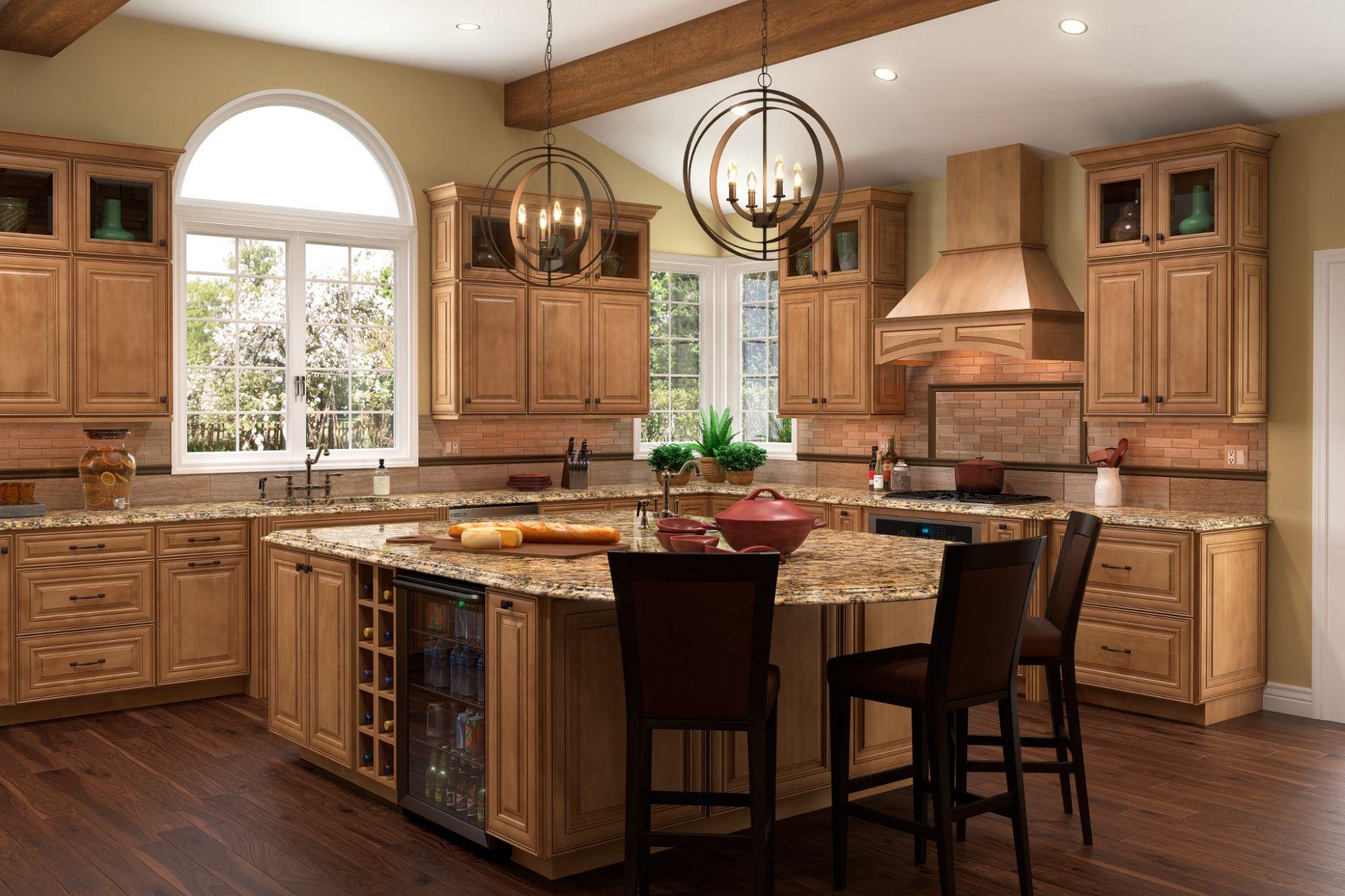 Inspiration Modal Image   Quality kitchen cabinets, Glazed ...