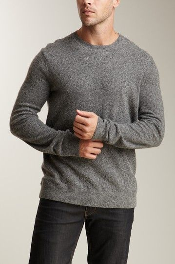 Vince Tweed Light Crew Sweater