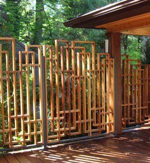 Gallery Latticestix Backyard Fences Backyard Privacy Bamboo
