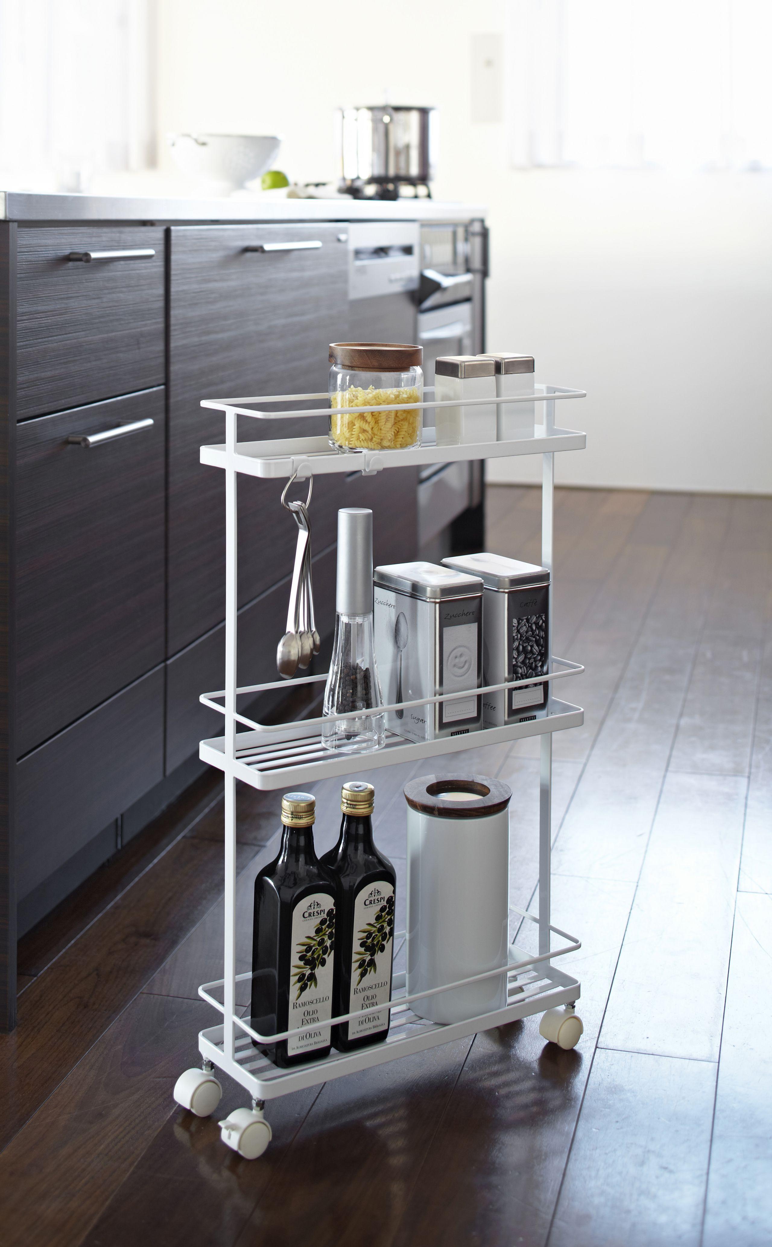 25 Small Kitchen Storage Ideas Slim Kitchen Storage Small Kitchen Storage Small House Kitchen Ideas