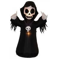 BZB Goods Halloween Inflatable Grim Reaper Decoration 200052