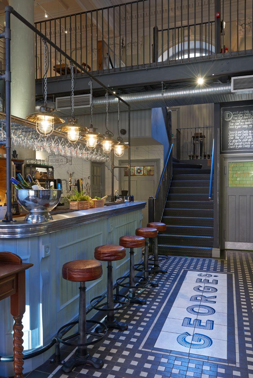 George S Fish Chip Kitchen Philip Watts Design