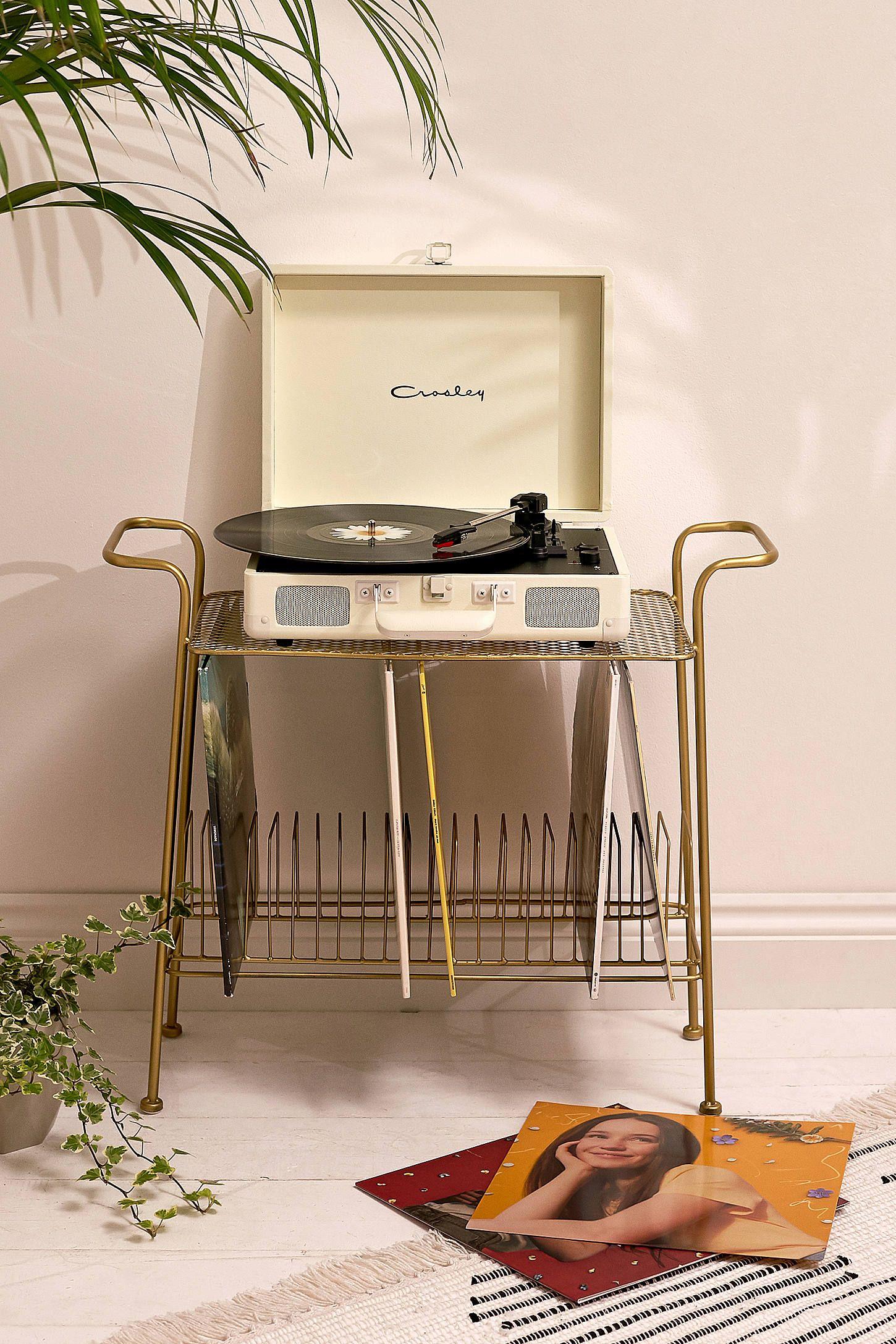 Crosley Cruiser Cream On Cream Bluetooth Vinyl Record Player In 2020 Vinyl Record Room Record Room Vinyl Record Player
