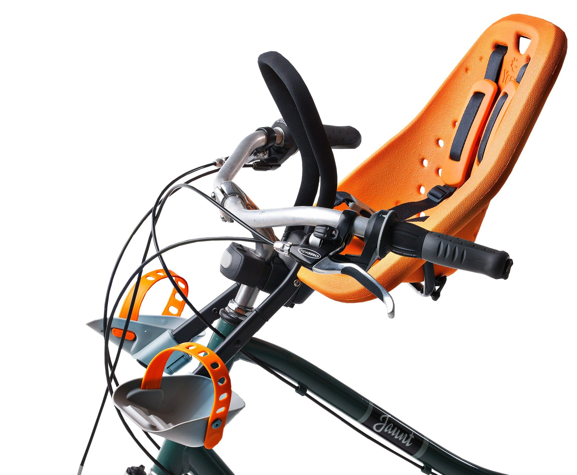 95305d909 This front-mounted kid carrier keeps your toddler in earshot Bicycle Cart