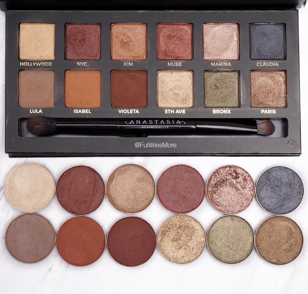 Master palette by Mario dupes with Makeup Geek eyeshadows