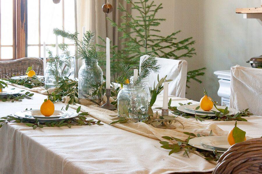 My Scandinavian Style Christmas Tablescape Simple Christmas Decor Decor Christmas Table