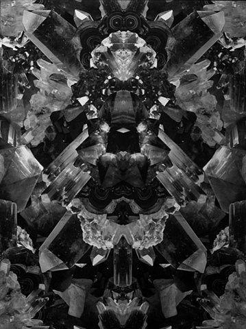 crystal kaleidoscope.