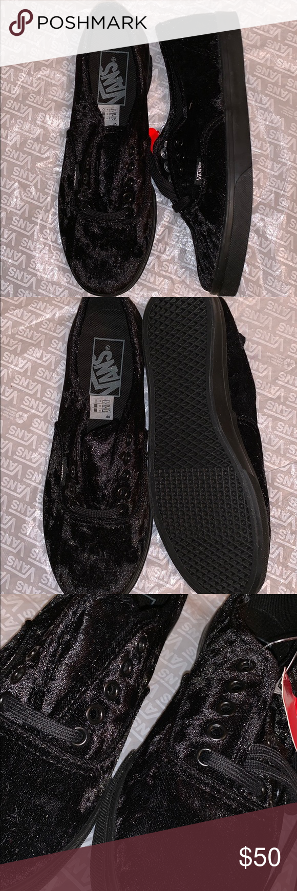 e1df40b0614465 Authentic lo pro velvet Vans Authentic low cut lace up low pro vans Thin  waffle sole