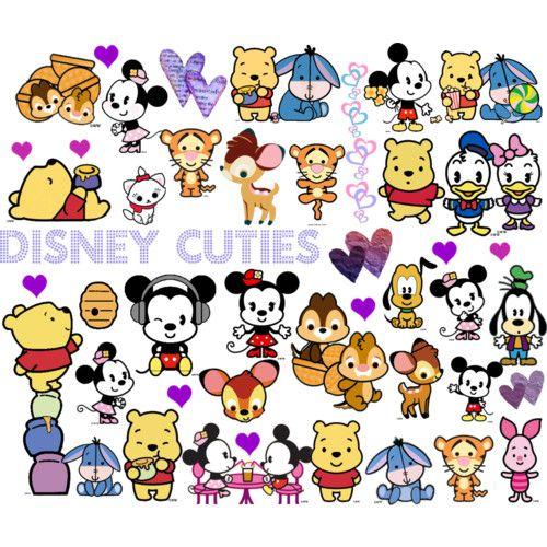 Disney Cuties ^_^ | Dibujo, Disney y Fondos