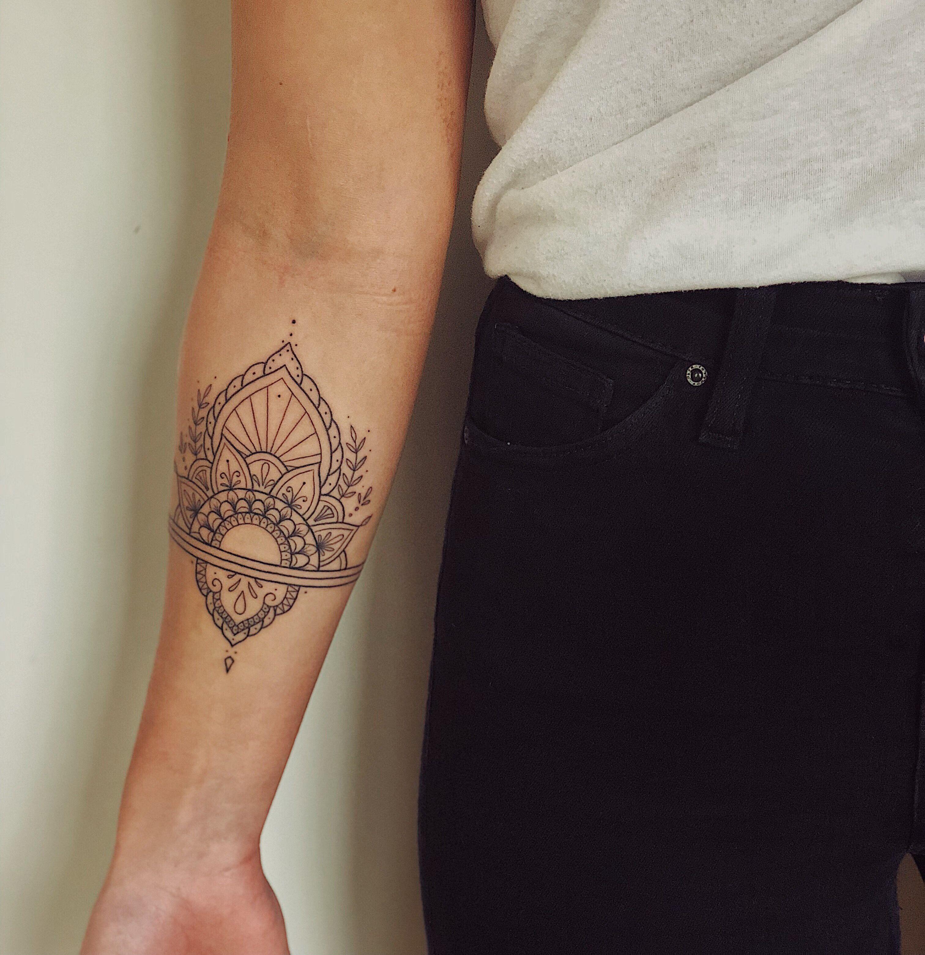 Inner Elbow Mandala Tattoo: Pin By Corin Peone On Tattoo
