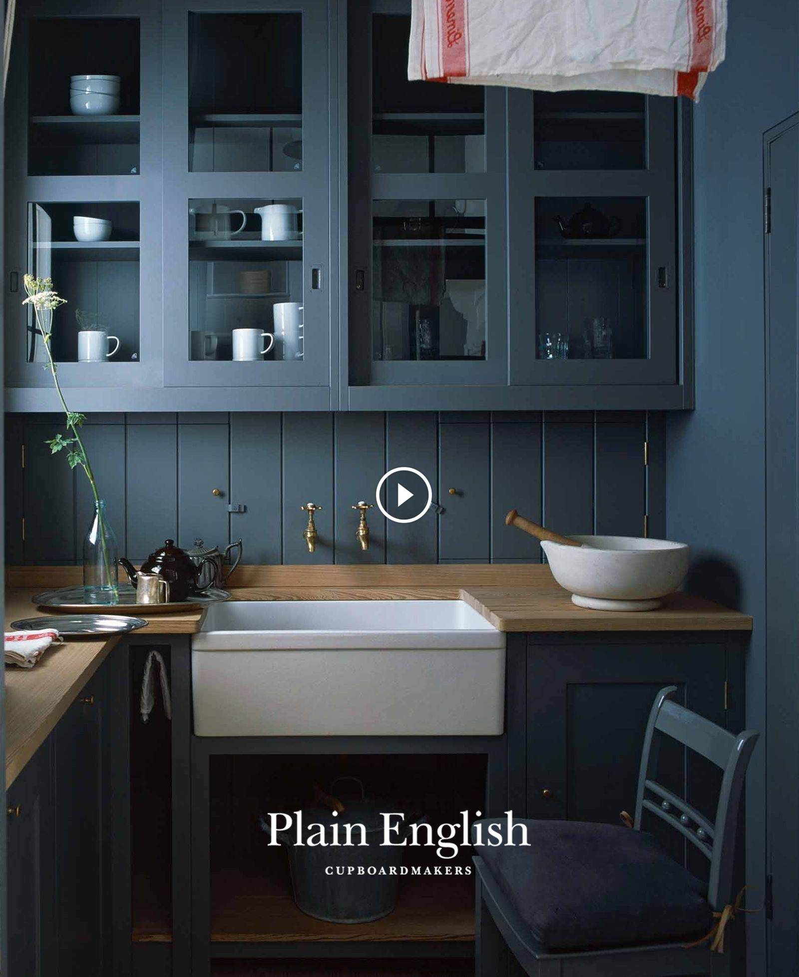Plain English Kitchen in Brooklyn: An Old-Style Townhouse ...