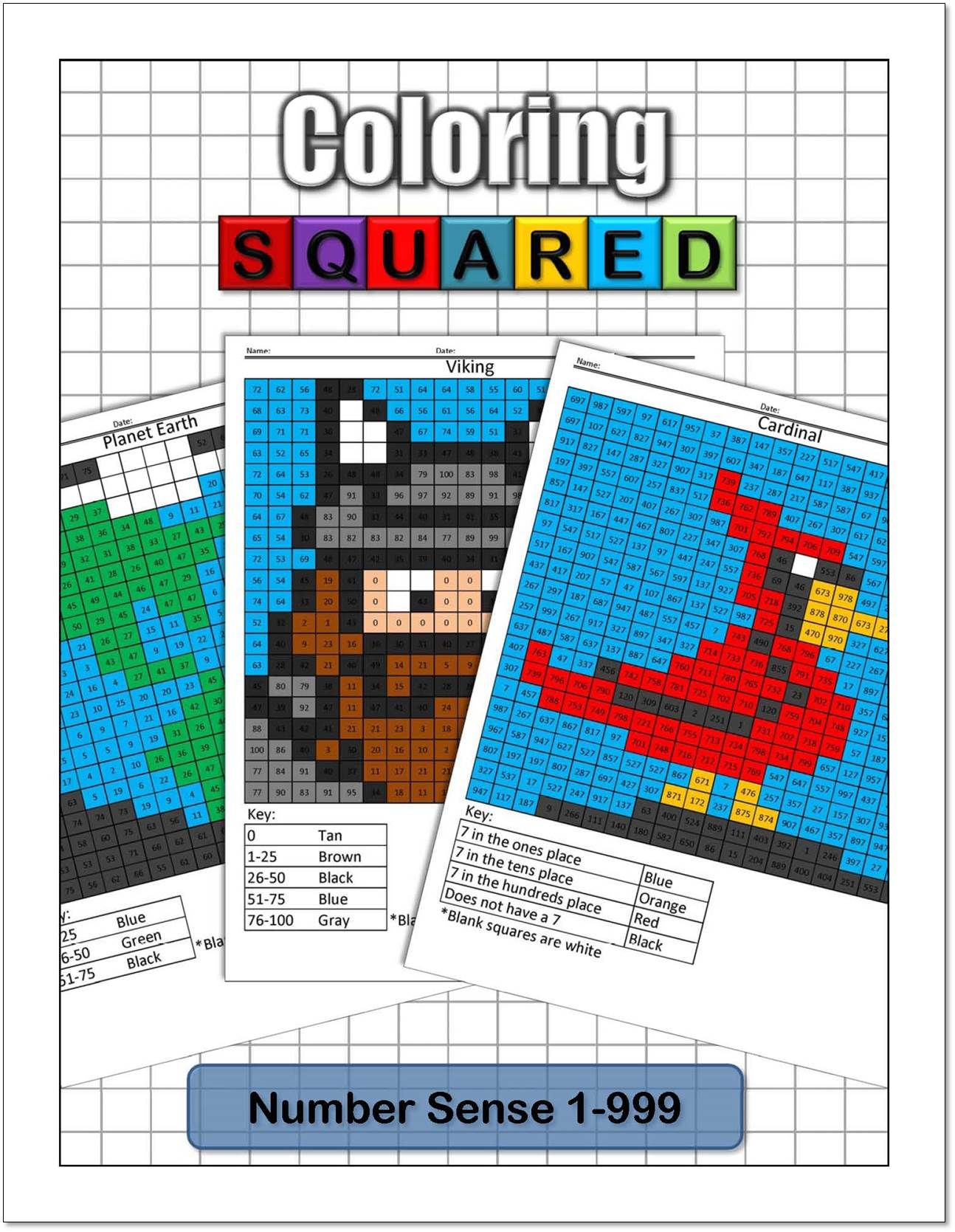 Place Value Coloring Pages Coloring Squared Place Value Worksheets Place Values Math Coloring Worksheets [ 1669 x 1294 Pixel ]