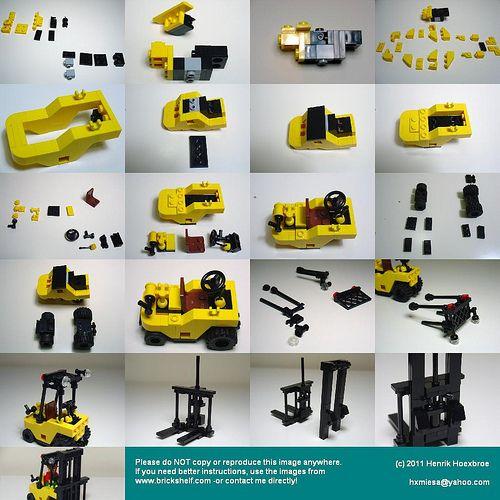 Forklift Instructions Forklift1 Pinterest Lego Lego