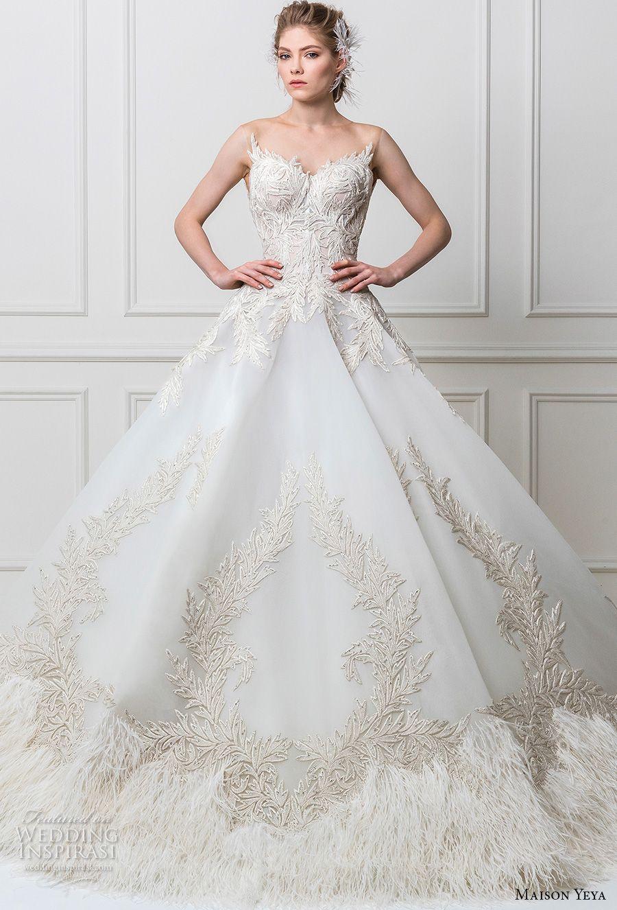 "Maison Yeya 2017 Wedding Dresses — ""Les Réfugiés D\'amour"" Bridal ..."