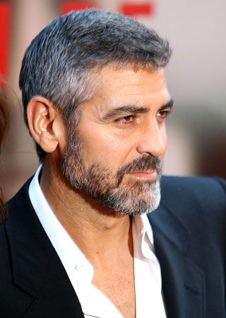 A Financial Look At Movember The Luxury Spot George Clooney Facial Hair Bearded Men