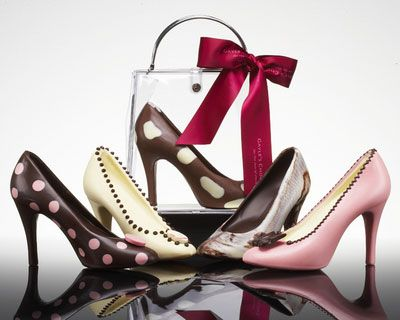 Chocolate shoes ~ Frances Cooley, owner of Clifton Cakes in Bristol