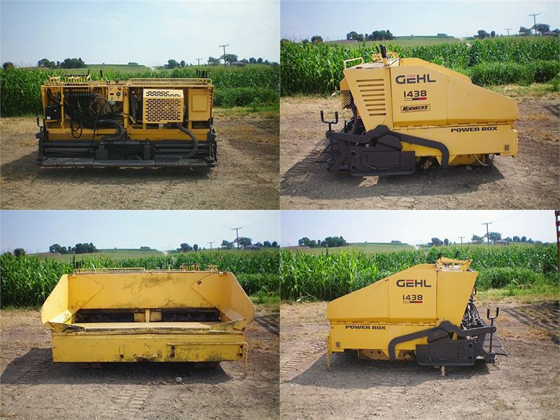 Find Cheap Used 1997 Gehl 1438 #Asphalt #pavers