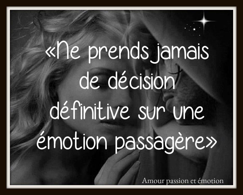 Emotion Amour Passion