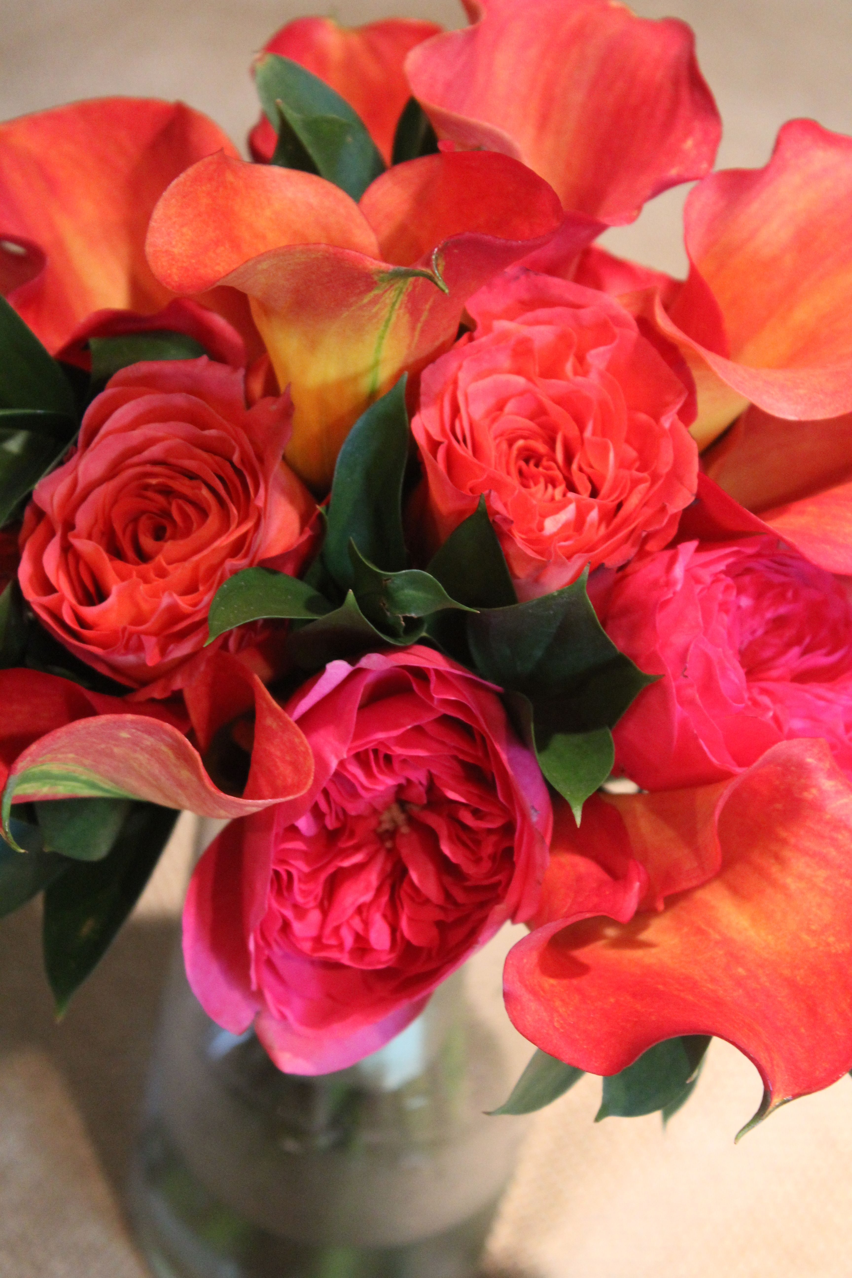 For a bride who wants a beautifully bright bouquet from Twigs in Greenville, SC