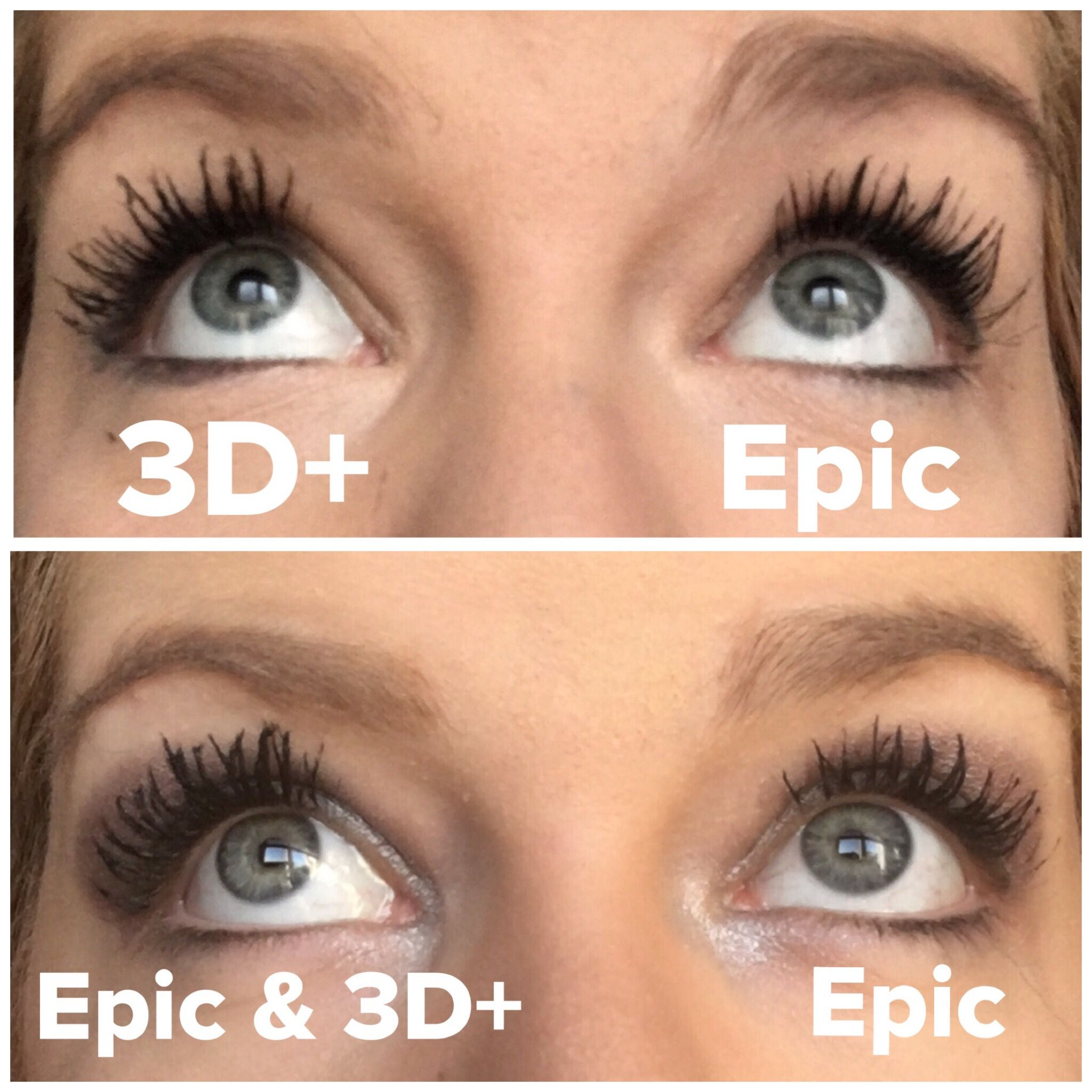 621d38a3962 You need the lash serum, epic mascara and 3d fibre lash mascara in your  life right now !!