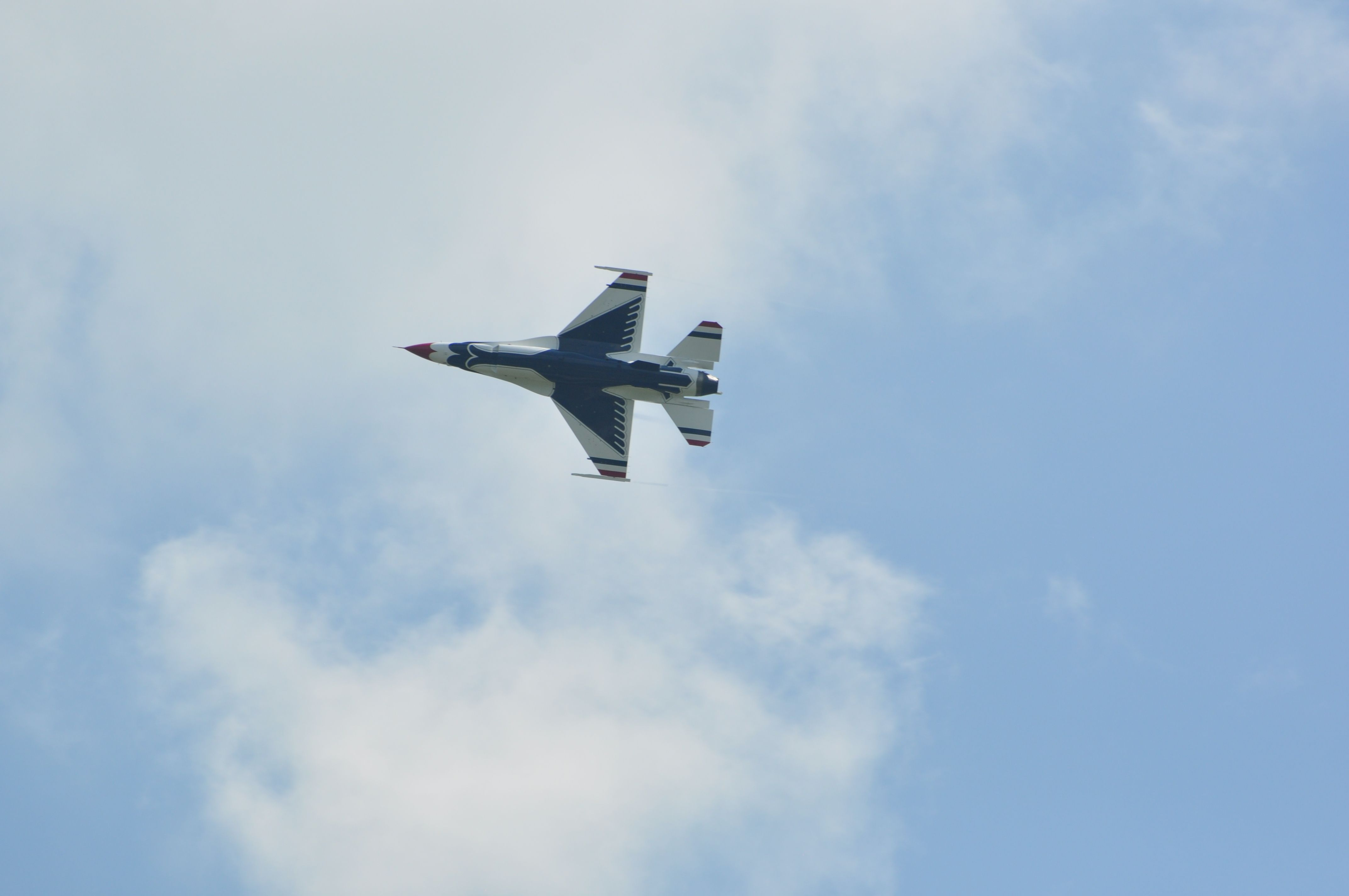 F16 of the Thunderbirds Air show, Westmoreland county