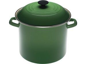 Enamel on Steel Stockpot (8-qt.): Fennel by Le Creuset