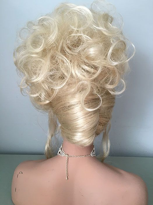 Blonde Wig French Twist 37