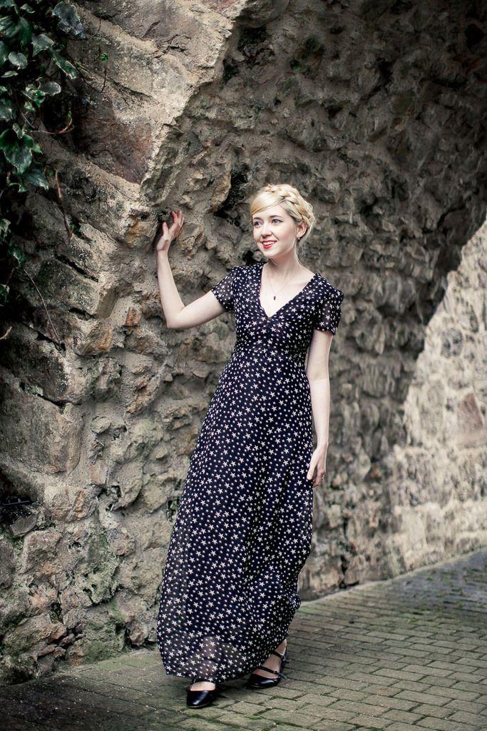 Feminine maxi dresses