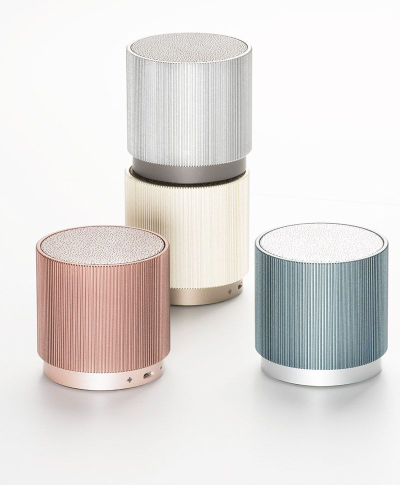Moderne Küchenutensilien: Praktische Lautsprecher Von Lexon