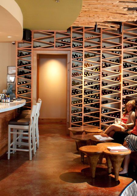 Nb i like this wine storage for it 39 s geometry and creativity also it 39 s massive and i love - Small space shelves concept ...