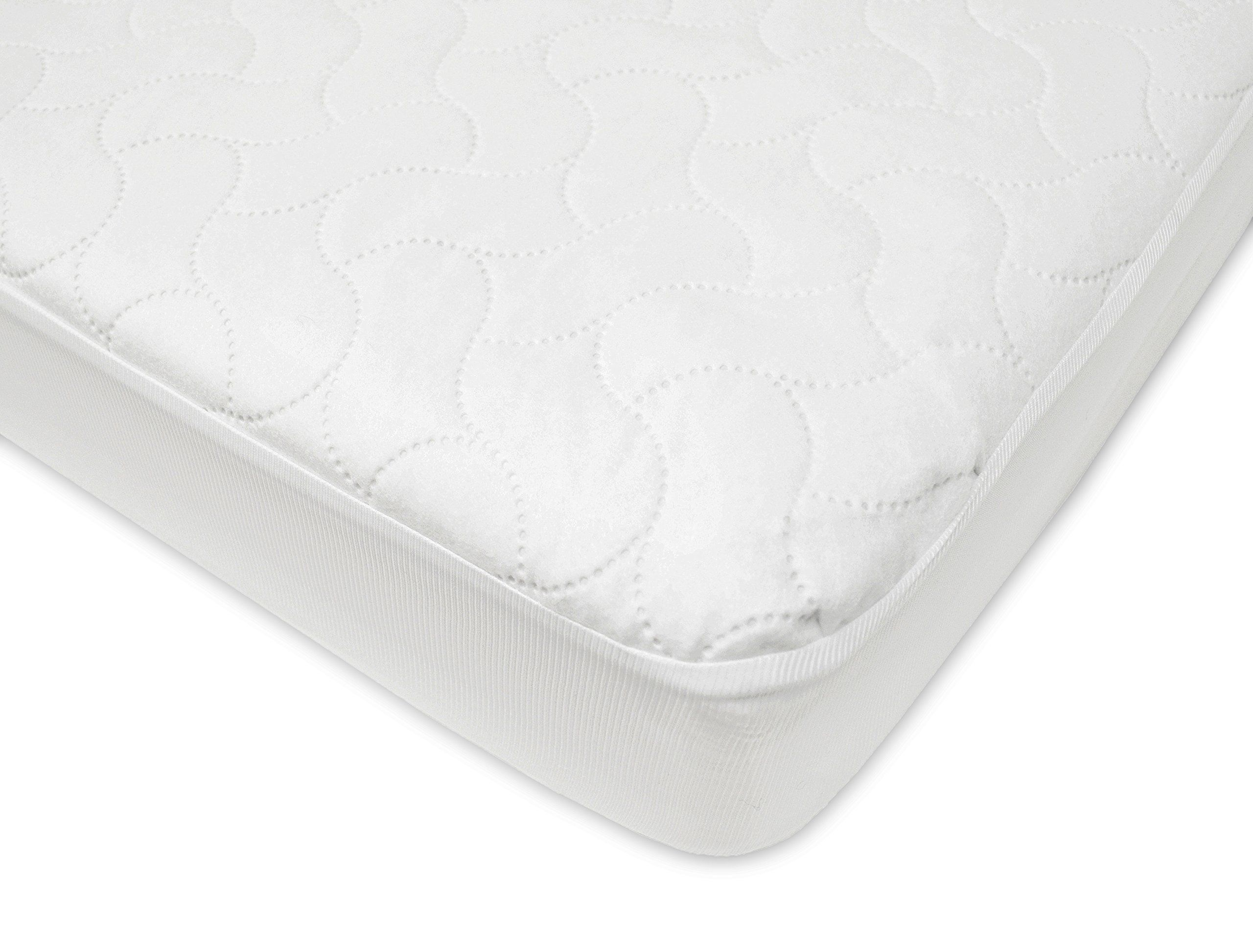 american baby company waterproof fitted quilted crib and toddler
