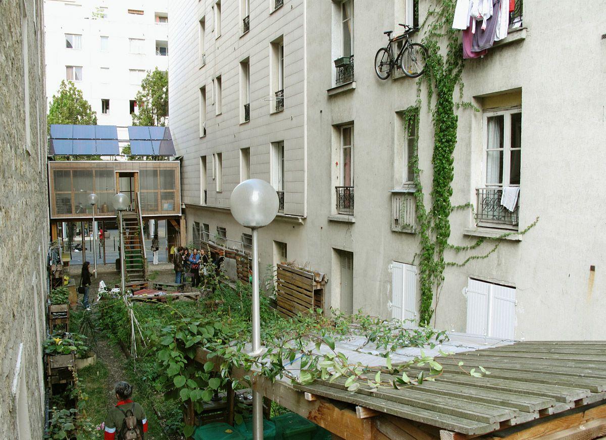 passage 56 community garden in paris atelier d architecture autogeree public space pinterest. Black Bedroom Furniture Sets. Home Design Ideas