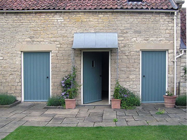 Zinc galvanized porch - attractive long-lasting made-to-measure door canopies from Garden Requisites near Bath England. & Zinc galvanized porch - Porches from Garden Requisites. | Front ...